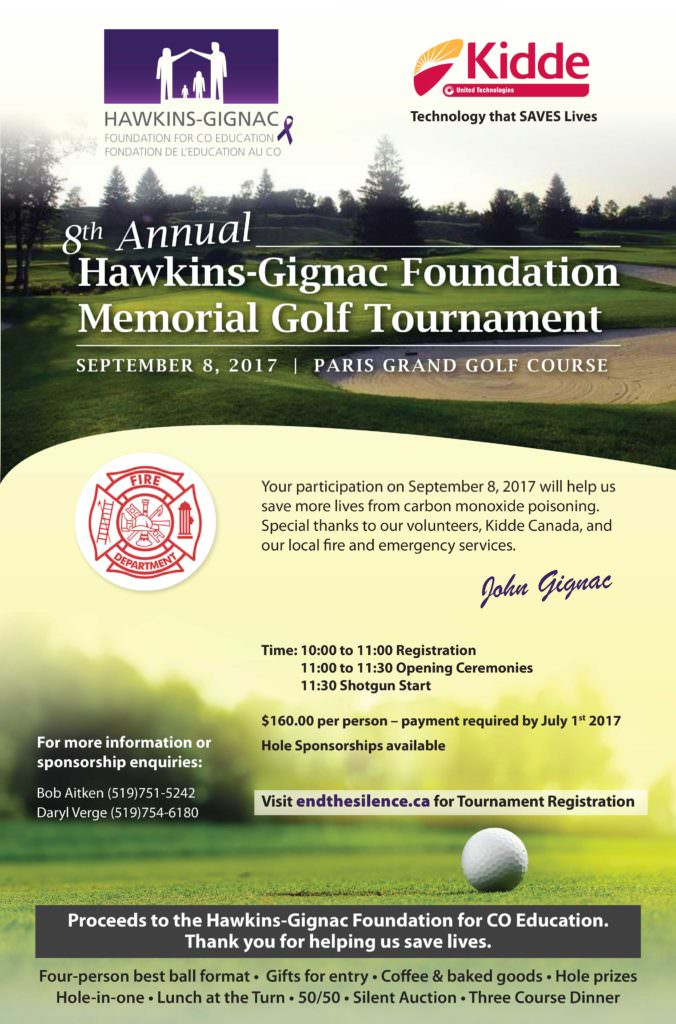 Hawkins-Gignac Golf Tournament 2017