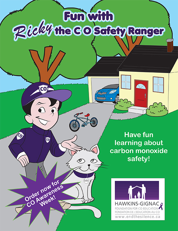 Fun with Ricky the CO Safety Ranger